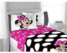 New Disney Minnie Mouse 4 Piece Full Sheet Set Bedding