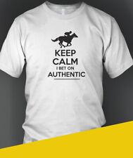 T-Shirt Kentucky Derby 2020 Winner AUTHENTIC Keep Calm Tee Adult Sz Cotton New