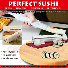 Perfect Home Made Sushi Maker Roller Easy Roll Machine Perfect OZ STOCK