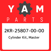 2KR-25807-00-00 Yamaha Cylinder kit, master 2KR258070000, New Genuine OEM Part