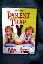 WALT DISNEYS CLASSIC FILMS: THE PARENT TRAP 2 FILM COLLECTION #1 & 2 (2)DVD SET!