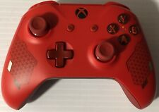 XBOX ONE SPORT RED SPECIAL EDITION CONTROL REFURBISHED MINT CONDITION FREE SHIP