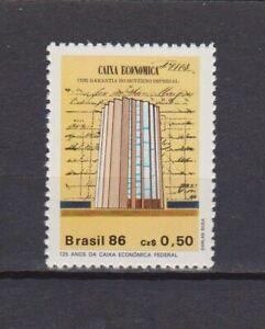 S19197) Brasil Brazil 1986 MNH New Saving Bank 1v