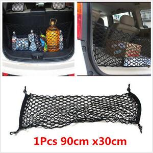 Black Car Trunk Cargo Net Mesh Storage Organizer For Car Interior Accessories