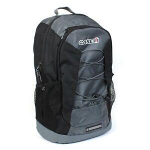 Case IH Logo Black Ascent Backpack OBT143