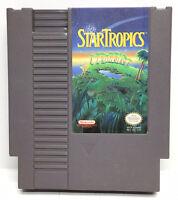 Star Tropics Nintendo NES Video Game Cart