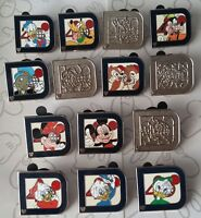 Classic D Collection 2011 Hidden Mickey Set WDW Choose a Disney Trading Pin