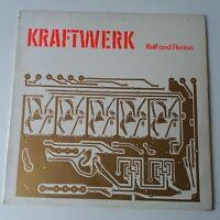 Kraftwerk - Ralf & Florian - Vinyl LP UK 1st Press 1973 EX/NM Embossed