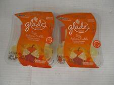 2 - Glade Limited Edition Plug Ins Cozy Autmn Cuddle 2 Refills In Each Kw 1231