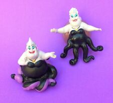 Vintage Disney The Little Mermaid Ursula figurines x 2