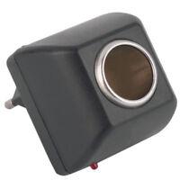 90V-220V AC Wall Power To 12V DC Car Cigarette Lighter Socket Charger Adapter Hi