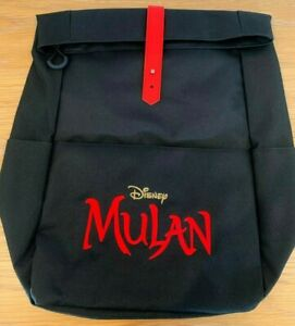 Disney Mulan Backpack - Limited Edition, Movie Promotional Item, Collectable