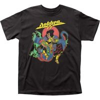 Authentic Dokken Beast from the East Live Album Cover Band Group 2 Sided T-shirt