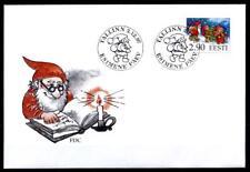 Weihnachten. Die Helfer des Weihnachtsmannes. FDC. Estland 1997