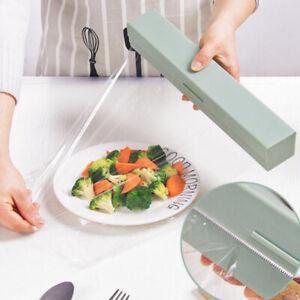Plastic Wrap Dispenser Kitchen Tools Cling Wrap Cutter Dispenser Film Cutter