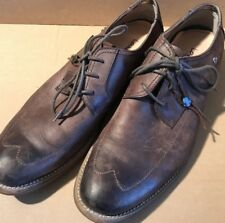 LOUNGE by MARK NASON Mens 9 Chocolate Brown Wing Tip Shoes