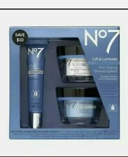 No7 Lift & Luminate Anti-ageing Skincare System With Triple Action Serum Set