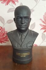 Wedgwood Dwight D. Eisenhower Black Basaslt Bust