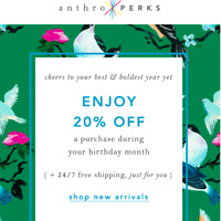 ANTHROPOLOGIE 20% OFF COUPON CODE /Online InStore /Ex 09/09/20 *Instant Delivery