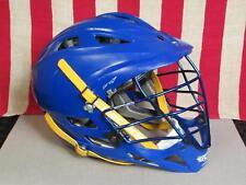 Cascade Pro 7 Lacrosse Helmet Univ.Delaware Blue Hens Game Worn Great Shape!