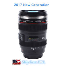 Camera Lens 24-105mm Travel Coffee Mug / Cup with Drinking Lid Best Gift