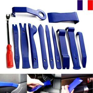 12X Outils de Démontage Garniture de Voiture pour Panneau de Porte Autoradio