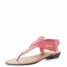 Elasticated Slingbacks Sandals & Beach Shoes for Women