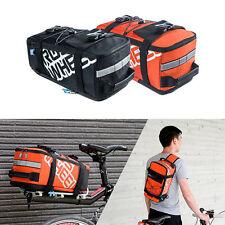 Bicycle Bike Trunk Bag MTB Road Cycling Rack Rear Seat Pannier Bag Storage Bag