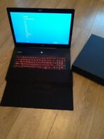 MSI GS72 6QE gaming laptop core i7 16gb ddr4 256gb ssd , 1TB HDD NEW.