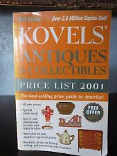 Kovels' Antiques and Collectables Price List 2001 33rd Edition Paperback Book