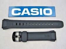 Genuine Casio WV-58A WV-58E WV-58J WV-58U black resin rubber watch band 18mm