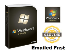 Windows 7 Ultimate 32 / 64 bit COA License Key download link