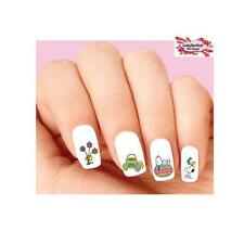 Waterslide Nail Decals Set of 20 - Snoopy Woostock Happy Easter Assorted