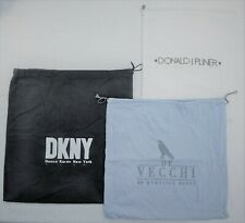 DKNY + DE VECCHI  + DONALD J PLINER Dust Bags Shoes Purses Travel Storage 3