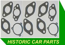 "Austin Healey Sprite Mk2 1098 948 1962-64 - Twin HS2 SU 1 1/4"" Carbs GASKET SET"