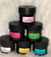 The Body Shop Face Masks Charcoal In Various Types 10ml Sample UK Stock Free P&P