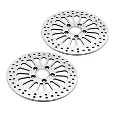 """11.5"""" Front Rear Disc Brake Rotor For  Softail Dyna Sportster 1984-2013"""