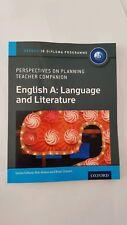 English A: Language And Literature Rob Allison Book