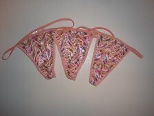 3 Pack G-String Thong Panties Lingerie Underwear  ~ Size 5 ~ Pink