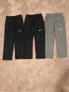 3 Pairs Of Boys Nike Pants Size 7