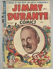 A1 #18 October 1948 Jimmy Durante G- Scarce