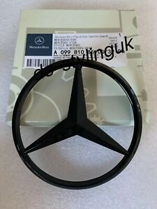 Rear Boot Black Star Badge for Merc E Class W238 2017+ COUPE & Cabriolet Models