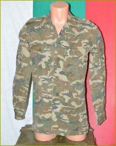 Rare Bulgarian Army Camouflage uniform Shirt Coat 1980's