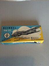 German Kit Heinkel 111 Rare!!1950s.