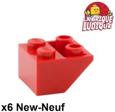 reddish brown NEUF NEW Plate 2x6 6 x LEGO 3795 Plaque marron
