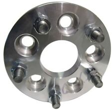 """5x115 to 5x150 US Wheel Adapters 1"""" Thick 14x1.5 Studs Billet Spacers x 4 Rims"""