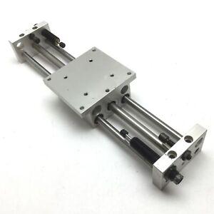 """Phd CBU031X8 Rodless Cylinder Linear Slide Table, Stroke: 8"""" w/ Shock Absorbers"""