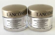 LOT OF 2 LANCOME ABSOLUE NIGHT PREMIUM BX NIGHT CREAM 0.5 oz / 15 g each NEW!!!