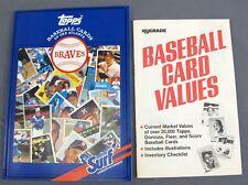 Topps/Surf Baseball Cards of the Atlanta Braves 1987 & Hygrade Price Guide 1989