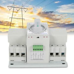 Umschalter Transferschalter Dual Netzteil Automatisch Transfer Switch 63A 2/3P